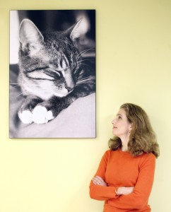 Jean Hoffman and Cat